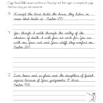 Learn Cursive - Worksheet Level 3