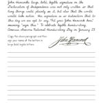 Cursive Worksheet Level 3 - Advanced
